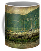 At Home In The Harbor - Atlantic Highlands  Nj Coffee Mug