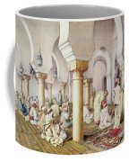 At Prayer In The Mosque Coffee Mug