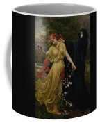 At The First Touch Of Winter Summer Fades Away Coffee Mug
