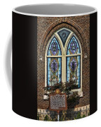 Athens Alabama First Presbyterian Church Stained Glass Window Coffee Mug