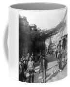 Athens Greece  C 1903 - Aeolos Street And The Stoa Of Hadrian Coffee Mug
