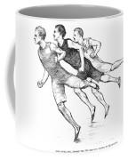 Athletics: Track, 1890 Coffee Mug by Granger