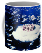 Atomic Bomb Test Cloud Coffee Mug by Science Source