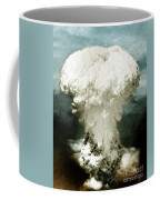 Atomic Bombing Of Nagasaki Coffee Mug by Science Source