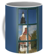 Au Sable Lighthouse Abstract 1 Coffee Mug