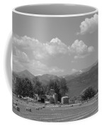 August Hay 75th  St Boulder County Colorado Black And White  Coffee Mug