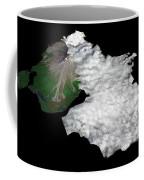 Augustine Volcano, Alaska Coffee Mug