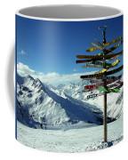 Austria Mountain Road Show Coffee Mug