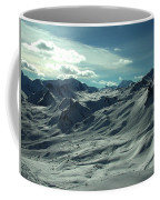 Austria Snow Mountain Coffee Mug