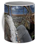 Auto Interior Of Abandoned Vehicle Coffee Mug
