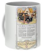 Automobile Ad, 1926 Coffee Mug