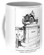 Automobile Cartoon, 1914 Coffee Mug