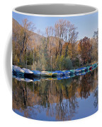 autum at the Lake Maggiore Coffee Mug by Joana Kruse