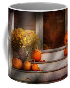 Autumn - Halloween - We're All Happy To See You Coffee Mug by Mike Savad