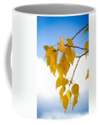 Autumn Aspen Leaves Coffee Mug