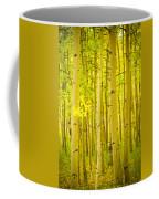 Autumn Aspens Vertical Image  Coffee Mug