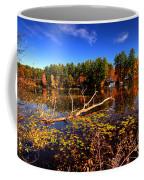 Autumn At Bomoseen Lake  Coffee Mug
