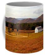 Autumn Barn In Green Bank Wv Coffee Mug