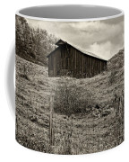 Autumn Barn Sepia Coffee Mug