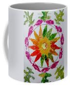 Autumn Chakra Coffee Mug by Sonali Gangane