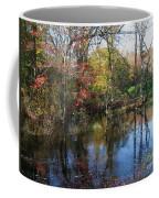 Autumn Colors On The Pond  Coffee Mug