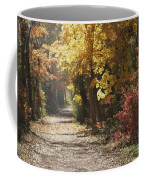 Autumn Dreams With Texture Coffee Mug