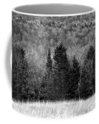 Autumn Field Bw Coffee Mug