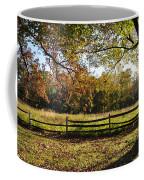 Autumn Field In Pennsylvania Coffee Mug