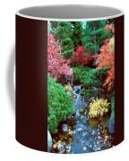 Autumn Garden Waterfall I Coffee Mug