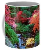 Autumn Garden Waterfall II Coffee Mug