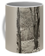 Autumn Grazing 2 Sepia Coffee Mug