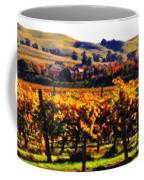 Autumn In The Valley 2 - Digital Painting Coffee Mug
