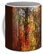 Autumn In The Woods Coffee Mug by David Lane
