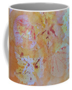 Autumn Leaf Splatter Coffee Mug