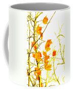 Autumn Leaves Abstract Coffee Mug