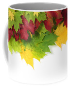 Autumn Leaves In Colour Coffee Mug