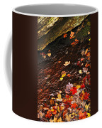 Autumn Leaves In River Coffee Mug