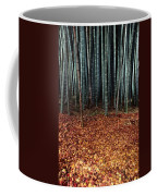 Autumn Leaves Litter The Ground Coffee Mug