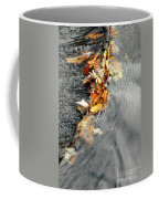 Autumn Leaves Tiny Dam Coffee Mug