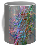 Autumn Likes Lines Coffee Mug by Michelle Calkins