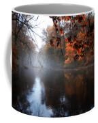 Autumn Morning By Wissahickon Creek Coffee Mug