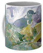 Autumn Mountains Coffee Mug
