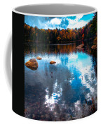 Autumn On Cary Lake Coffee Mug