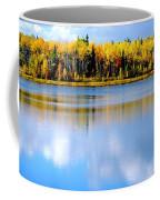 Autumn On Chena Lake L Coffee Mug