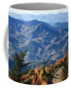 Autumn On The Blue Ridge Parkway Coffee Mug