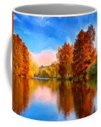 Autumn On The Lake Coffee Mug