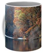 Autumn Pond Reflections Coffee Mug
