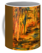 Autumn Reflection In The Water Coffee Mug