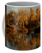 Autumn Reflections Painterly Coffee Mug