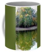 Autumn Reflections Upon Dark Waters Coffee Mug